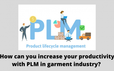 How can you increase productivity with PLM in garment industry?
